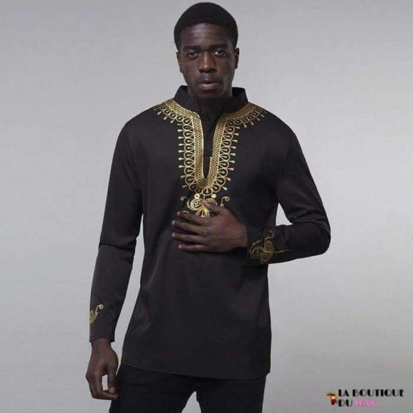 chemise Africaine wax et Dashikis