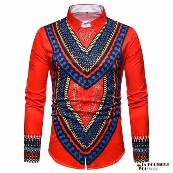 Chemise homme de style Africaine de haute qualité