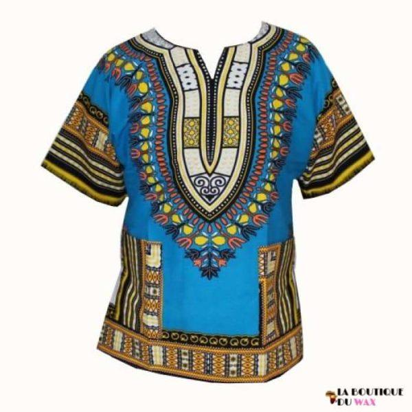 Chemise Robe florale Dashiki pour femme ou pour homme