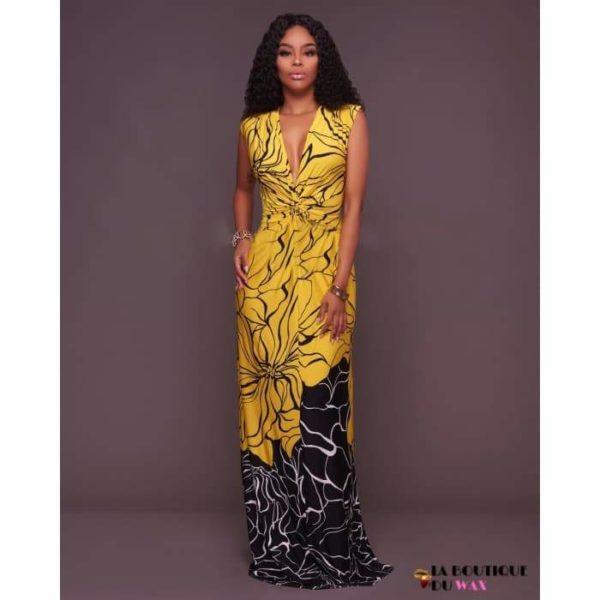 Élégante robe Africaines de style longue - Vêtements style