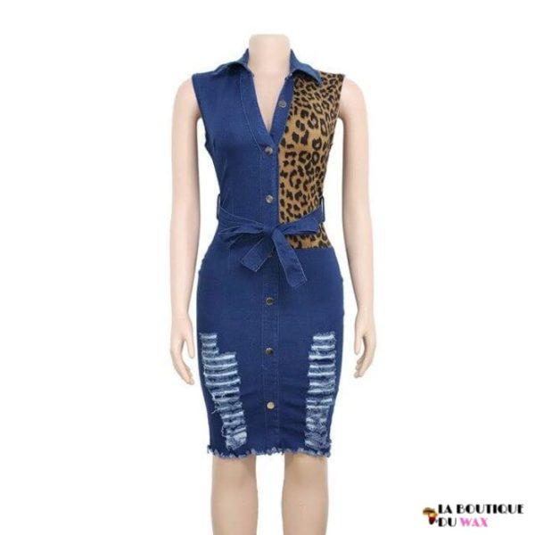 Élégante robe de style Africaine - MULTI / S - Robes