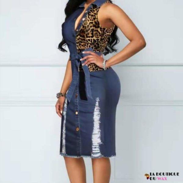 Élégante robe de style Africaine