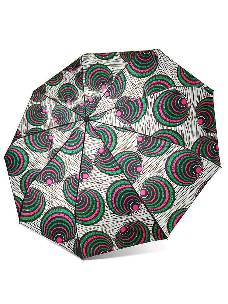 Parapluie automatique imprimé en tissus Africain d'Ankara
