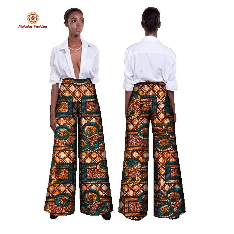 Hot sale african women pants africa clothes print Compatible products