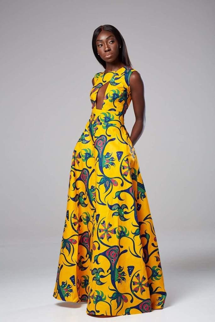 Robe Africaine édition florale