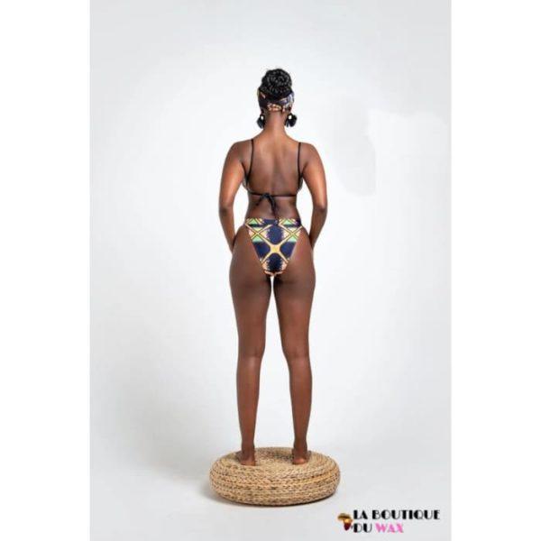 Maillot de Bain Bikini type Africain et Dashiki - Maillot de