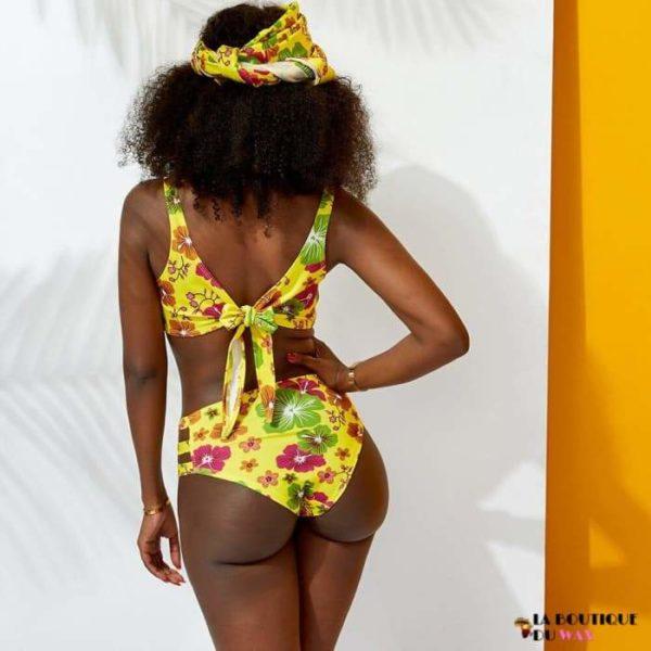 Maillots de Bain femmes en 2 ou 3 pièces de style Africain -