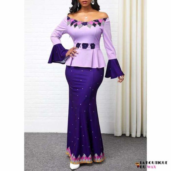 Robe Africaine de style Ankara imprimé Dashiki - Vêtements