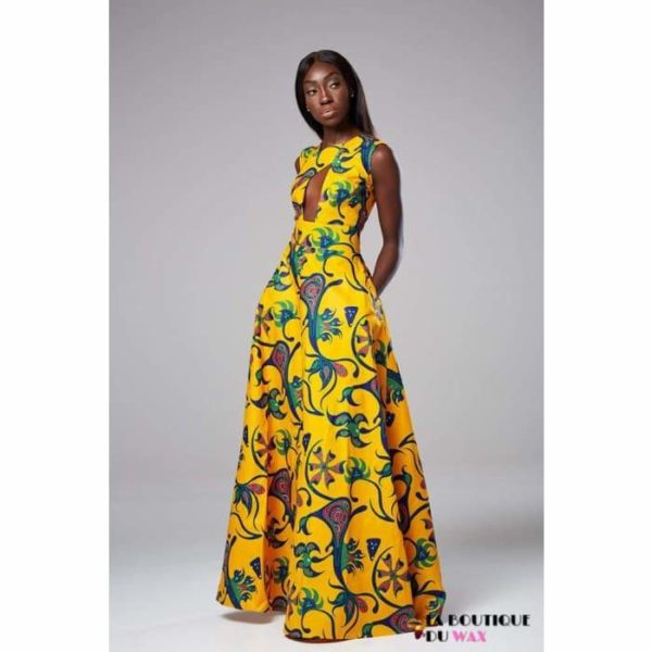 Robe Africaine édition florale - Robes