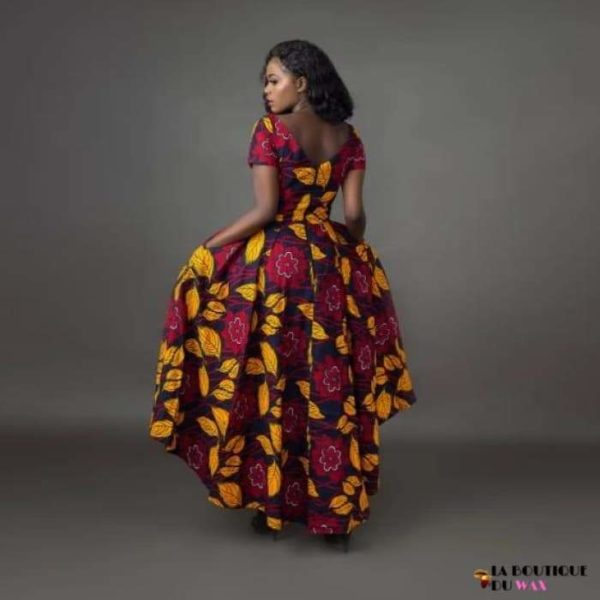 Robe Africaine imprimé Batik - Vêtements style africain