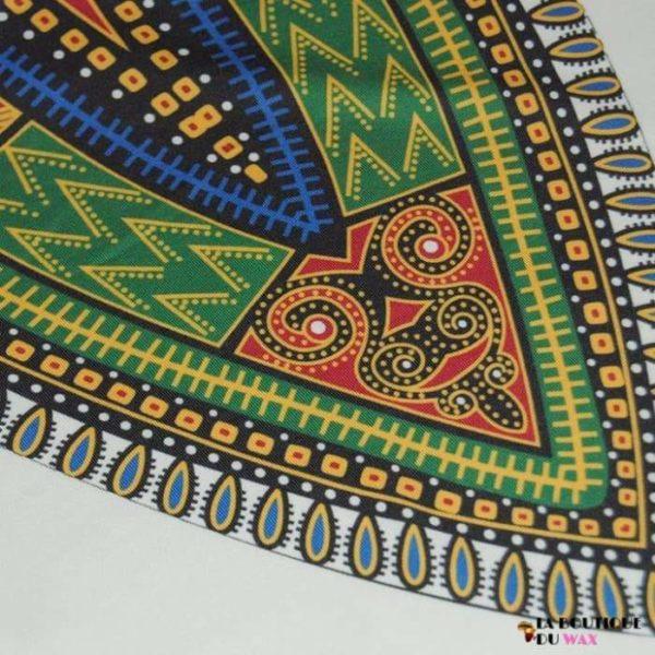 Robe Africaine juste au corps Vintage avec imprimé Dashiki -