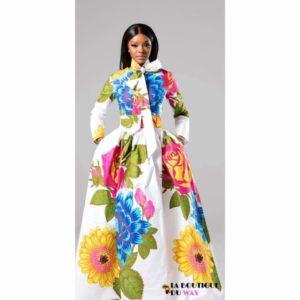 Robe Africaine Kitenge spéciale printemps - Vêtements style
