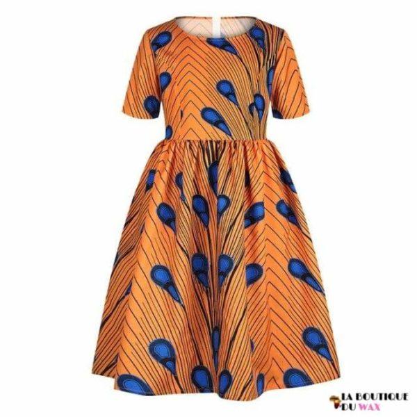 Robe Africaine pour jeune fille imprimé Kente - 13 /