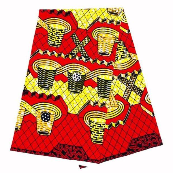 Pagne Tissu Africain Wax Kano.