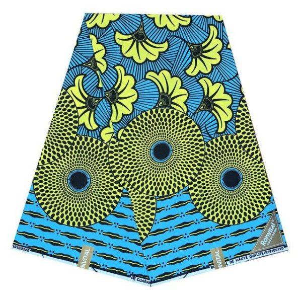 Pagne Tissu Africain Wax Lagos