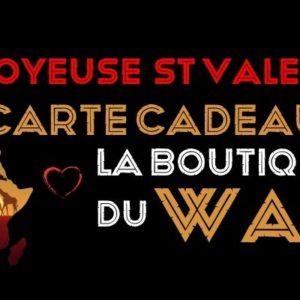Carte Cadeaux joyeuse saint valentin - laboutiqueduwax.fr