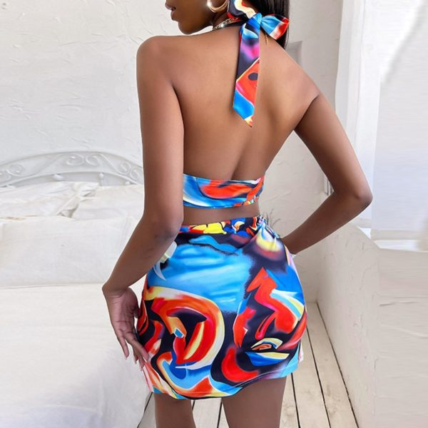 Maillot de Bain Africain Push Up une pièce