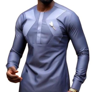 Chemise Africaine Star pour Homme