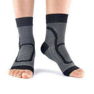 Paire cheville soutien compression chaussettes