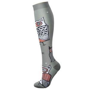 chaussettes-de-compression/chaussettes-de-compression-avec-un-hibou