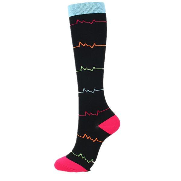 chaussettes-de-compression/chaussettes-de-compression-avec-un-coeur-noir