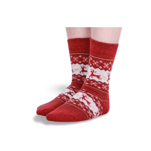 chaussettes-de-noel-chaussettes-de-noel-cerf