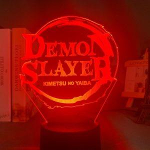 Lampe Demon Slayer Logo Manga