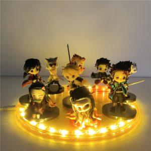 Figurine Led Demon Slayer Personnages Principaux