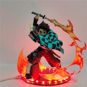 Figurine LED Demon Slayer Tanjiro