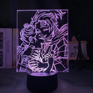 Lampe Demon Slayer Tanjiro & sa mère