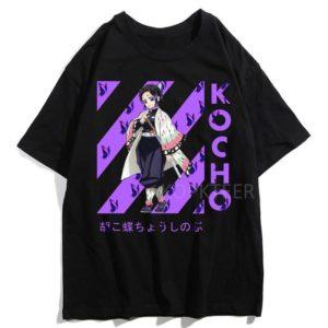 T-shirt Demon Slayer Kochô Shinobu Kimetsu No Yaiba