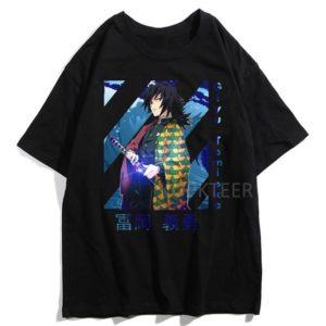 T-shirt Demon Slayer Tomioka Giyû Kimetsu No Yaiba