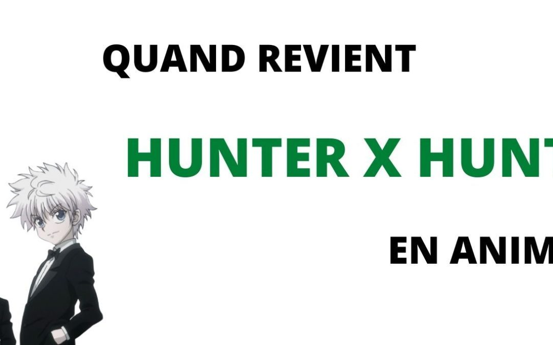 QUAND REVIENT HUNTER X HUNTER