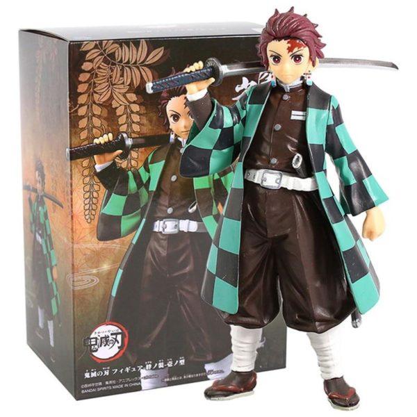 Figurine Demon Slayer Tanjiro Kamado avec boite