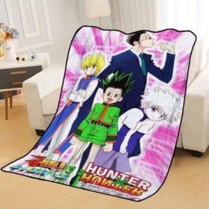 Plaid Hunter x Hunter Anime Originale